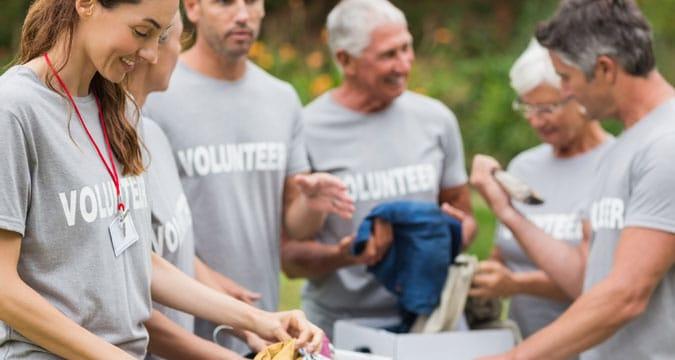 Custom t-shirt printing in Surrey for fundraising